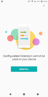 Sony | Configuration Extension Screenshot
