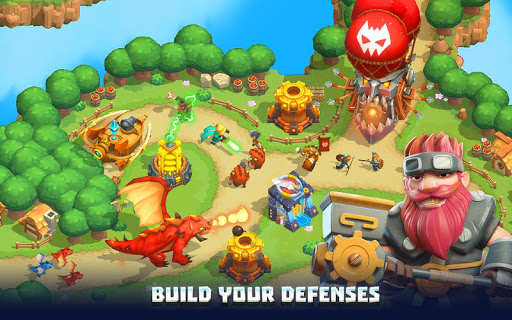 Wild TD: Tower Defense in Fantasy Sky Kingdom 1.5.8 screenshots 1