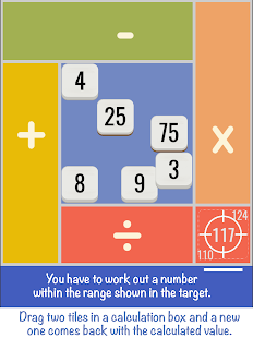 6x4 calcool: Brain training game, by Math Loops - náhled