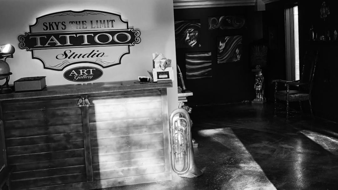 Skys The Limit Studio Tattoo Studio In Ellington