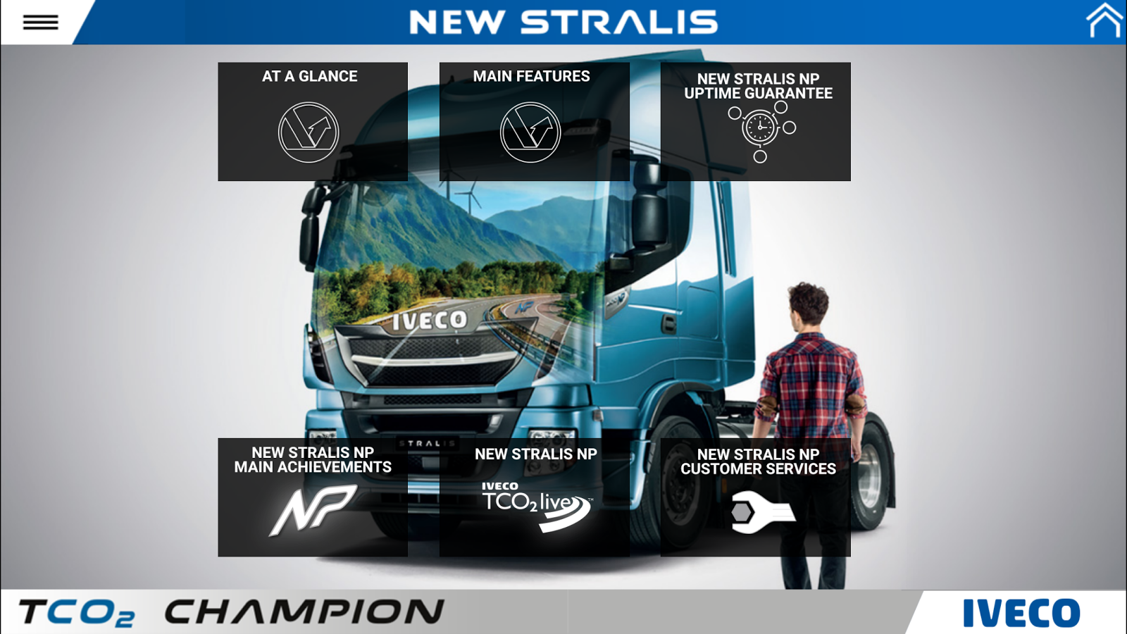 IVECO NEW STRALIS phones- screenshot