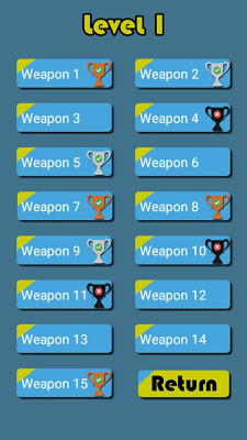 Weapons of Playstation Quiz - screenshot