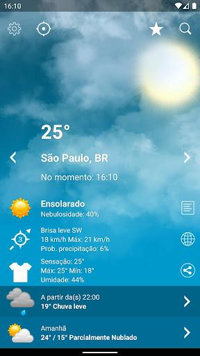 Tempo Brasil Clima XL PRO - previsão 10 dias screenshot 1