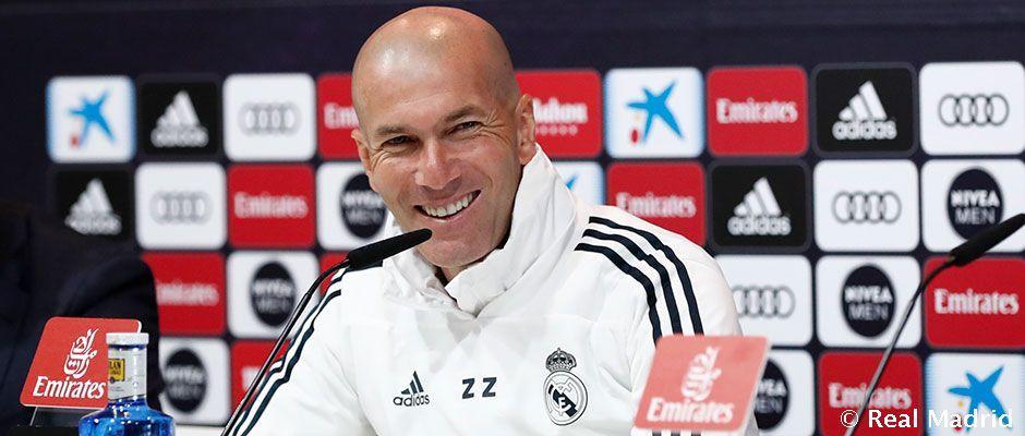 Conferencia de prensa de Zidane
