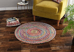 Choose Wool Round Rugs from a vast variety at Wooden Street