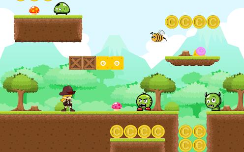 Fantastic Superhero A Platform Game Android Apps On Google Play Short Hairstyles Gunalazisus