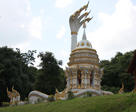 Photo: Day 338 - Stupa Monument at Chiang Dao Caves