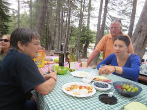 Photo: Judy, Alan and Nieda