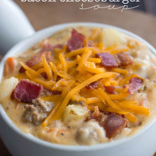 Bacon Cheeseburger Soup Recipes.