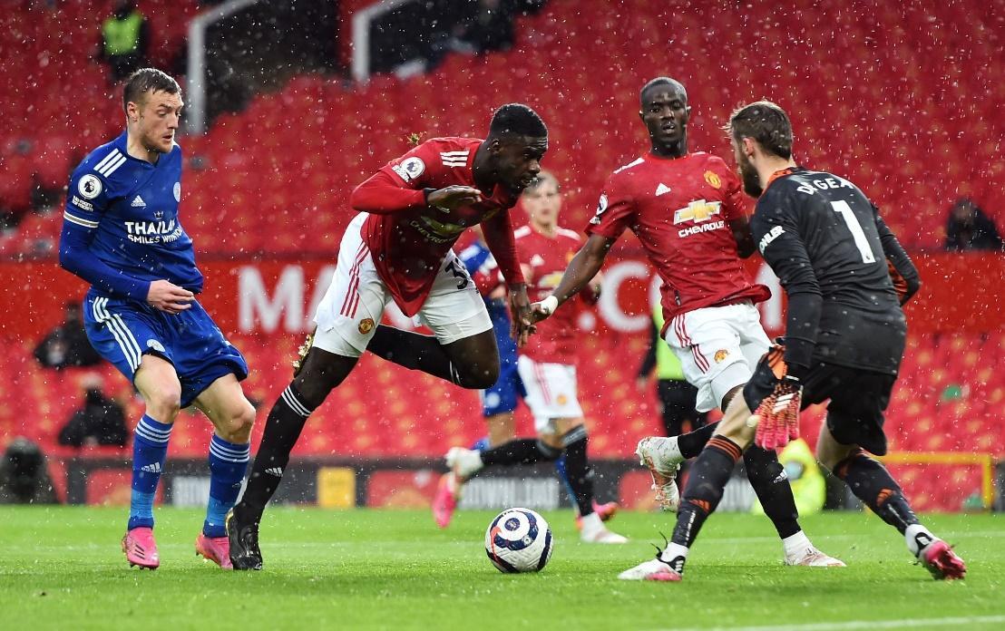 Leicester City đã đánh bại Man Utd 2-1 ở lần đối đầu gần nhất.