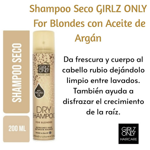 champú girlz only for blondes 200 ml