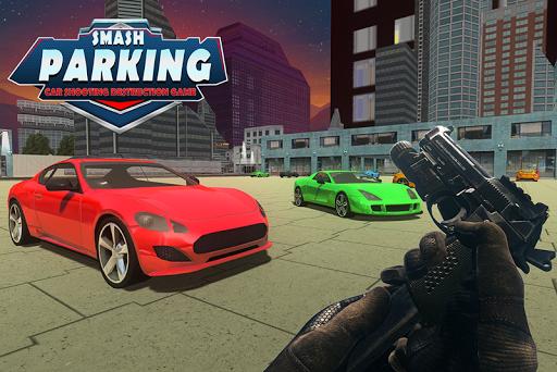 Smash Parking Car Shooting Destruction game 1.0 screenshots 1