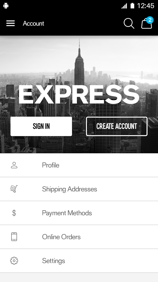 EXPRESS- screenshot
