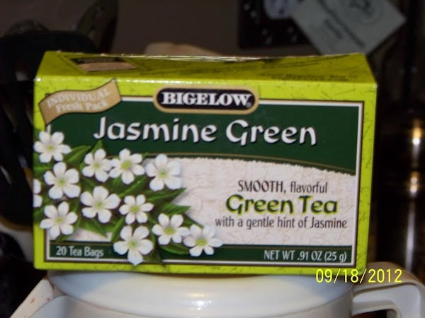 Boil a pot of Jasmine Green Tea with the 3 bags of tea. Let...