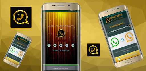 واتس اب ذهبي بلس app (apk) free download for Android/PC/Windows screenshot
