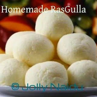 Homemade RasGulla | RoshoGolla | Cheeseballs in Sugar Syrup