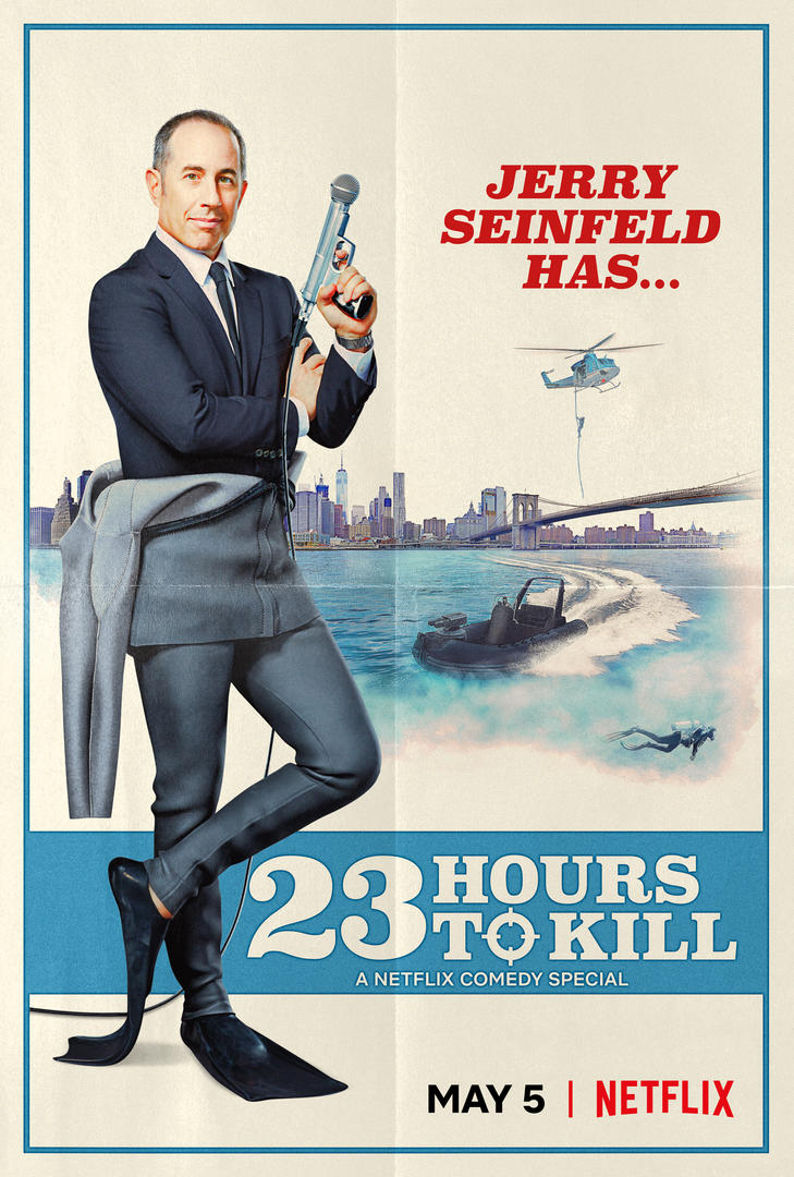 Netflix Debuts Official Trailer for Jerry Seinfeld: 23 Hours to Kill - Image 1