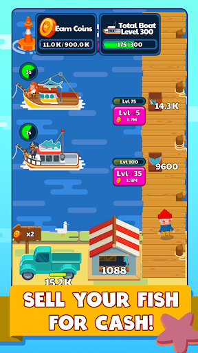 Idle Fishing Story apklade screenshots 1