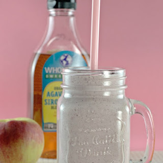 Apple Cottage Cheese Smoothie.