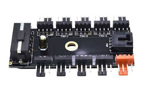 OEM 4-pins PWM splitter, 10 stk. PWM kontakter, 4-pins drevtilkobling
