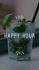 Happy Hour Specials - Instagram Story item