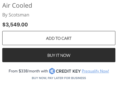 Buy Now Pay Later in-Cart