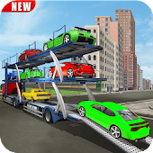 Truck Car Transport Trailer