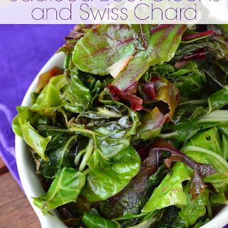 SautéEd Beet Greens and Swiss Chard Recipe