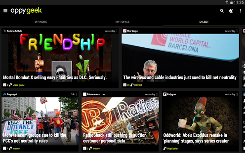 Appy Geek – Tech news - screenshot thumbnail
