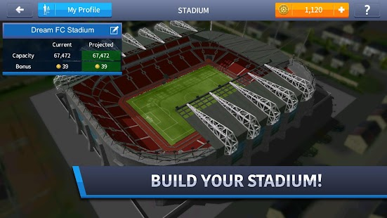 Dream League Soccer 2017- gambar mini screenshot