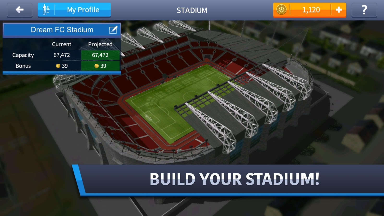 Download Dream League Soccer (MOD Unlimited Money) for android
