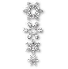 Memory Box Die - Breezy Snowflakes