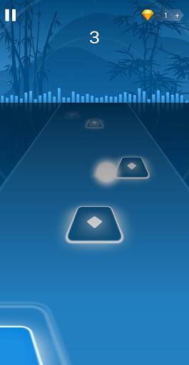 Dancing HOP: Tiles Ball EDM Rush apkpoly screenshots 5
