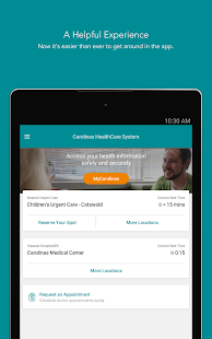 Carolinas HealthCare System- screenshot thumbnail