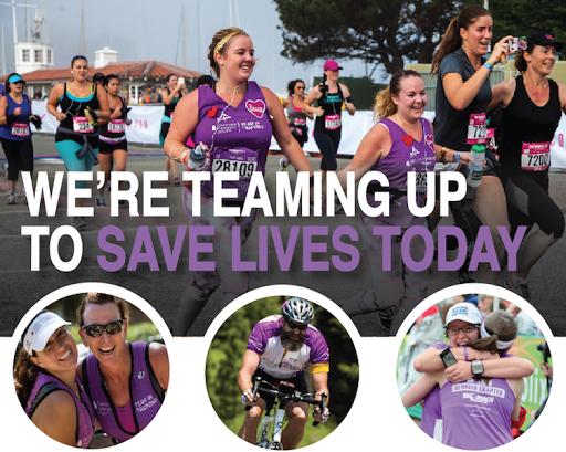 Team In Training, a fundraising program of The Leukemia & Lymphoma Society, lets participants train for a full or half marathon, triathlon, cycling or hiking event with one goal in mind: to find cures and ensure access to treatments for blood cancer patients.