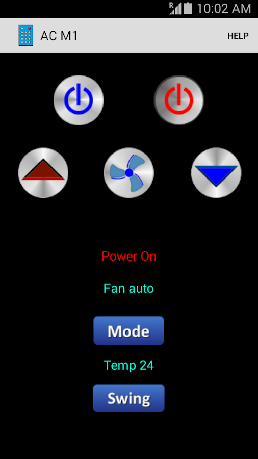Universal Remote Control- screenshot