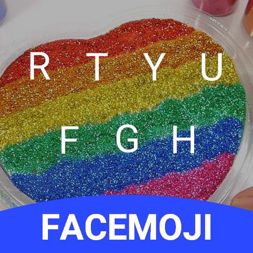DIY Colorful Slime Keyboard Theme