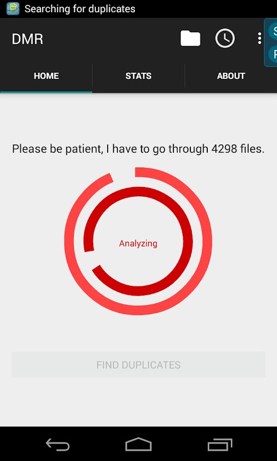 Duplicate Media Remover - screenshot