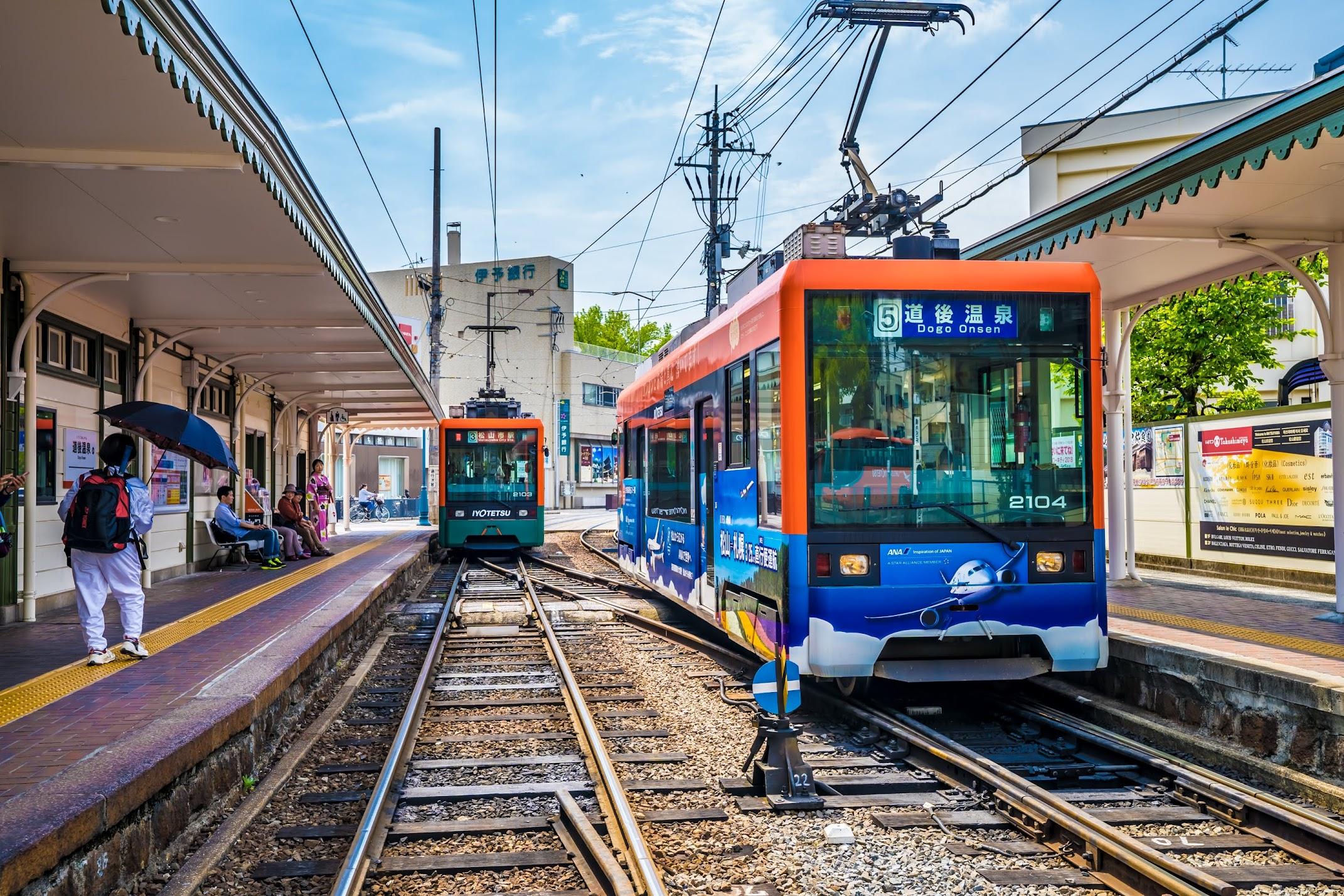 松山 路面電車1