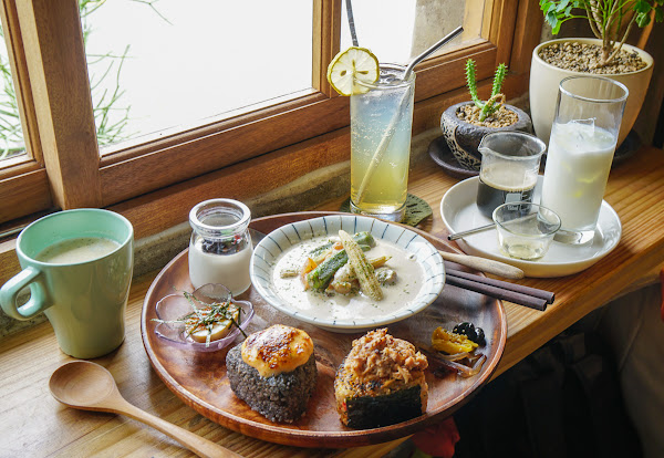老輾米廠變身文青咖啡廳!超火紅創意飯糰餐-麋谷Miguvillage