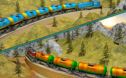 Indian Train City Pro Driving- Oil Tanker Train  screenshots 10