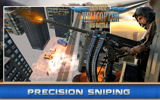 Gunship Helicopter:Air battle v1.0