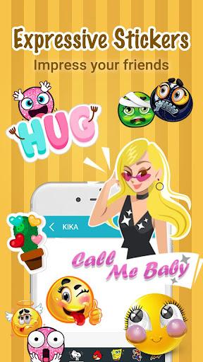 Kika IQQI Emoji Keyboard Emoticons, Theme & ASCII for PC