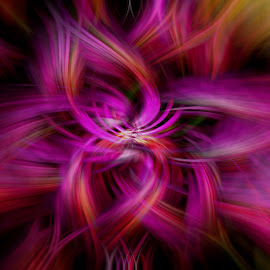 by Gail Camons Erasmus - Abstract Patterns ( colour, abstract, colourful, purple, color, abstract art )