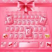 Pink Bow Keyboard Skin