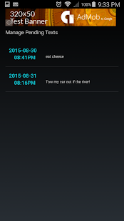 Text Message Scheduler- screenshot thumbnail