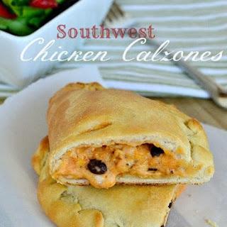 Southwest Chicken Calzones.