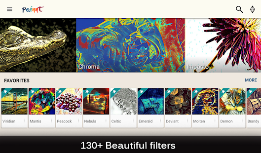 Painnt - Pro Art Filters- screenshot thumbnail