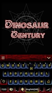 Dinosaur-Kika-Keyboard-Theme