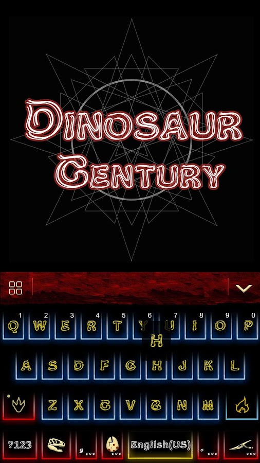 Dinosaur-Kika-Keyboard-Theme 6